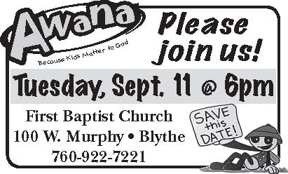 AWANA KICK OFF THIS TUESDAY NIGHT!  SEPTEMBER 11, 2012